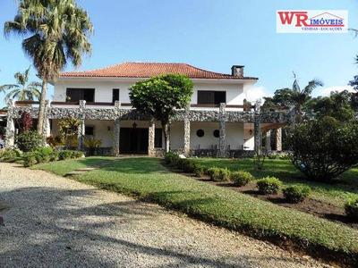 Chácara Residencial À Venda, Dos Finco, São Bernardo Do Campo. - Ch0027