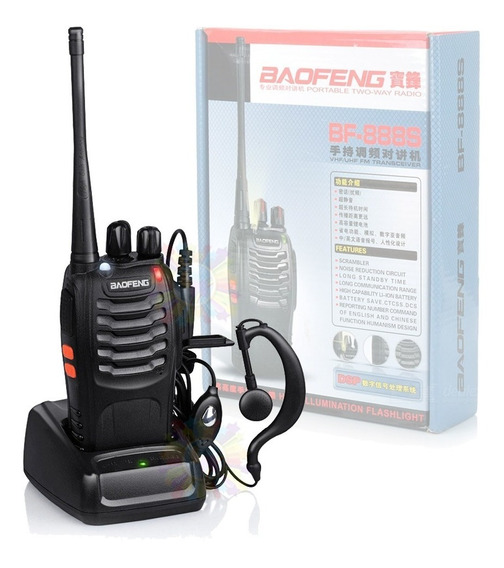 Handy Baofeng Bf888s Canalero Radio Walkie Talkie Original 16ch Uhf Handie Accesorios Bateria Manos Libres Tipo Motorola