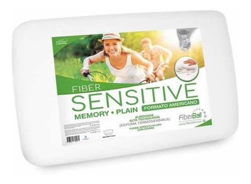 Almohada Sensitive Plain Fiberball Viscoelástica