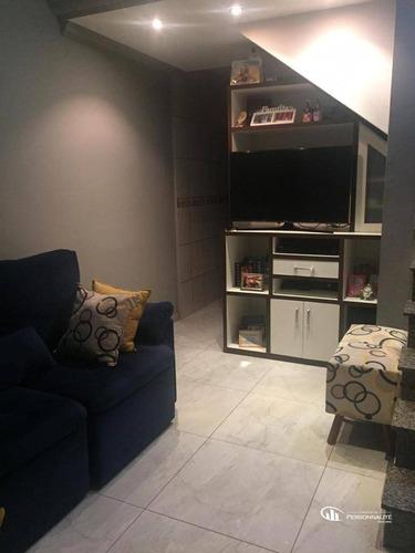 Imagem 1 de 30 de Sobrado Com 2 Dormitórios À Venda, 69 M² Por R$ 262.000,00 - Jardim Santo André - Santo André/sp - So0278