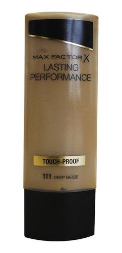 Imagen 1 de 2 de Base Max Factor Liquida Touch Proof 111 Deep Beige
