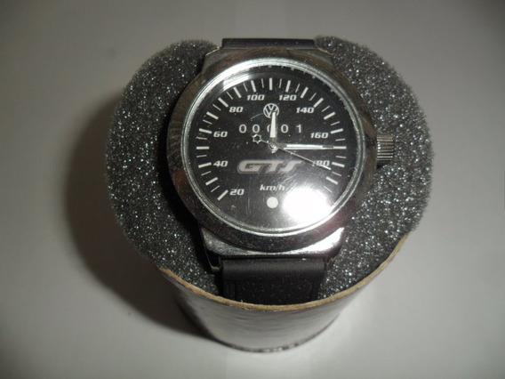 Relógio Com Tema Automotivo, Gts