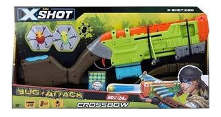 Pistola Ballesta Dardos X-shot Bug Attack Crossbow Juegos