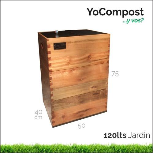 Compostera De 120 Litros Jardin