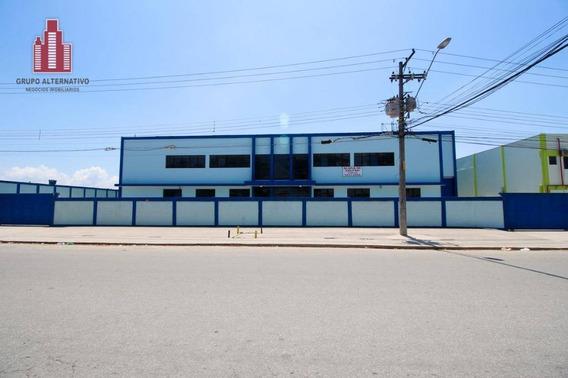 Galpão Industrial Para Locação, Cidade Industrial Satélite De São Paulo, Guarulhos. - Ga0002