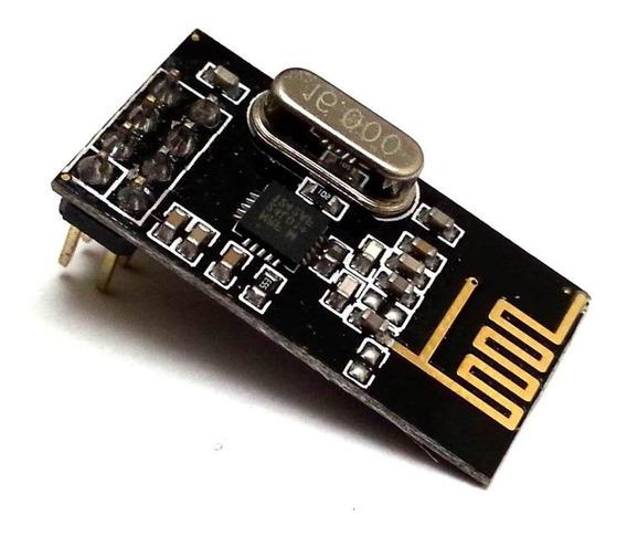 10 Xmódulo Emissor Receptor Radio Frequência 2,4ghz Nrf24l01