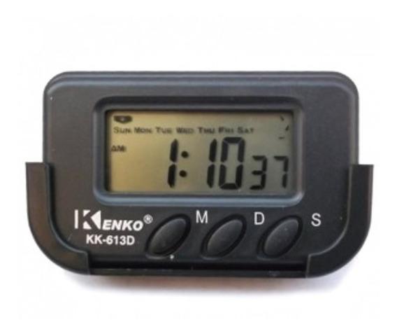 Relógio Digital Automotivo Painel Carro Caminhão Taxi Van Cronometro Data Kk-613d
