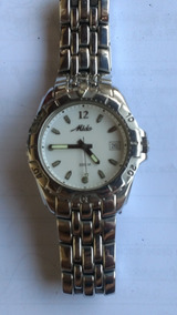 Relógio Mido 200 M Branco Quartz
