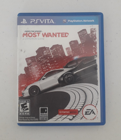 Jogo Need For Speed Most Wanted - Ps Vita - Original