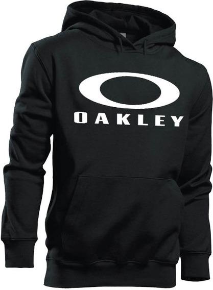Moletom Oakley Premium Blusa C Capuz E Bolso Casaco De Frio