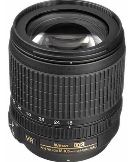 Lente Nikon 18-105mm F/ 3.5-5.6g Dx Ed Af-s Vr