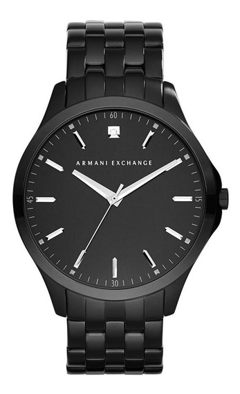 Relógio A Exchange Slim Black Ax2159