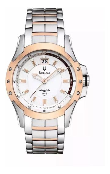 Relógio Masculino Bulova Marine Star Analógico 98b129