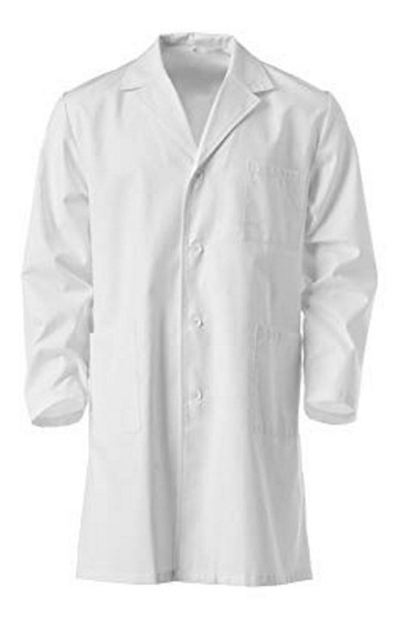 Guardapolvo Hombre Azules Blancos - Somos Fabricantes - Mecanico Medico Maestros Profesores Docentes - Proyecto Mer - C