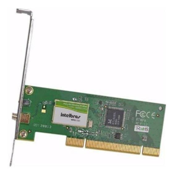 Placa De Rede Wireless Pci ( Não Acompanha Antena Externa )