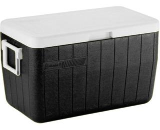 Caixa Térmica Coleman 48 Qt Cooler 45,4 Litros Preta