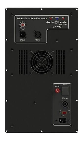 Amplificador Audio Leader Ativador Para Caixa De Som Ca 400