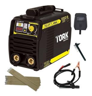 Máquina Inversor De Solda 200a Tig Bivolt - Ite-10200 Tork