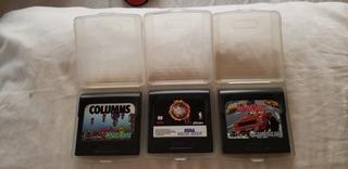 Lote De Juegos Sega Game Gear