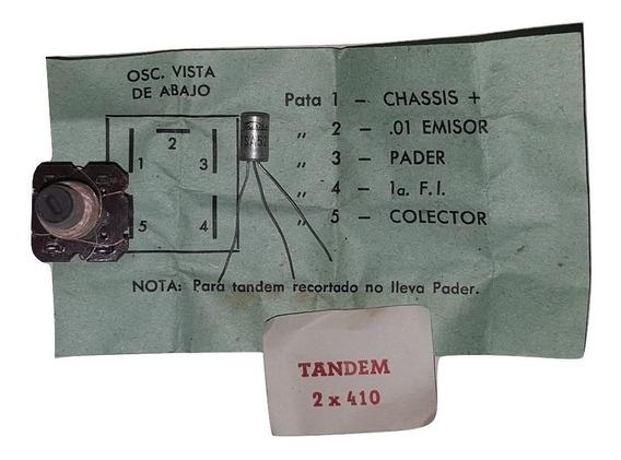 Bobina Osciladora O L + Transistor 2sa52 Radio Antigua