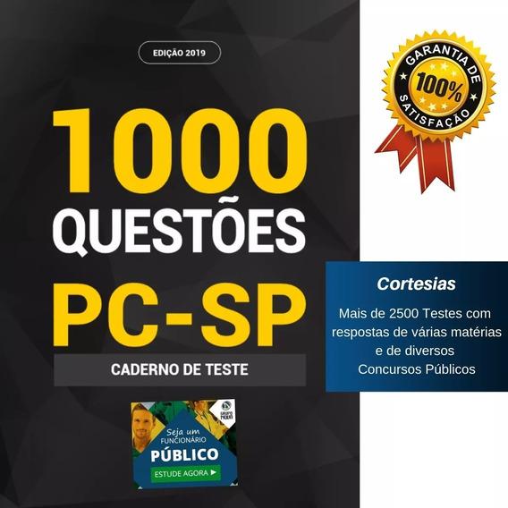 Caderno De Testes Pc Sp - Questões Polícia Civil São Paulo
