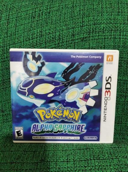 Pokémon Alpha Sapphire 3ds Mídia Física Usado