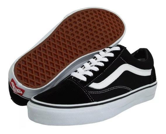 Zapatillas Vans Old Skool Importadas Negras Envío Gratis!!!