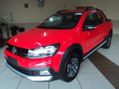 Volkswagen Saveiro 1.6 16v Cross Cd 2019/2020 Vermelho
