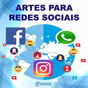 Combo 10 Artes Para Redes Sociais