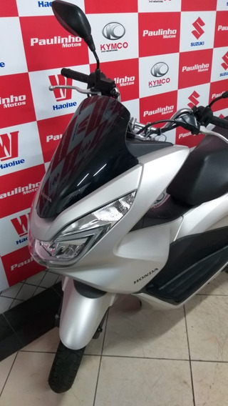 Honda Pcx 150 Prata 2017