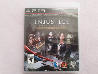 Injustice Gods Among Us Ultimate Edition Para Ps3