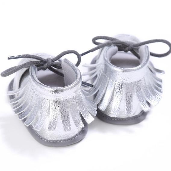 Sapato Menina Prata