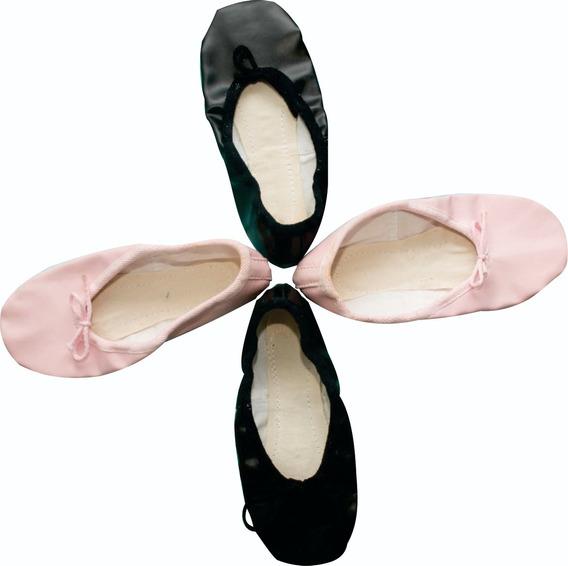 Zapatillas , Badanas , Danza Media Punta Cuerina Ajustables.
