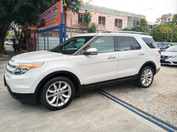 Ford Explorer Limited 13 Blanco