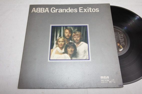 Vinilo Abba Grandes Exitos 1979 Tapa Gatefold Ex