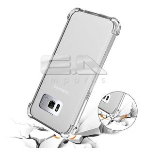 Capa Galaxy S8 Plus + Película Frente E Verso + Lens Protect