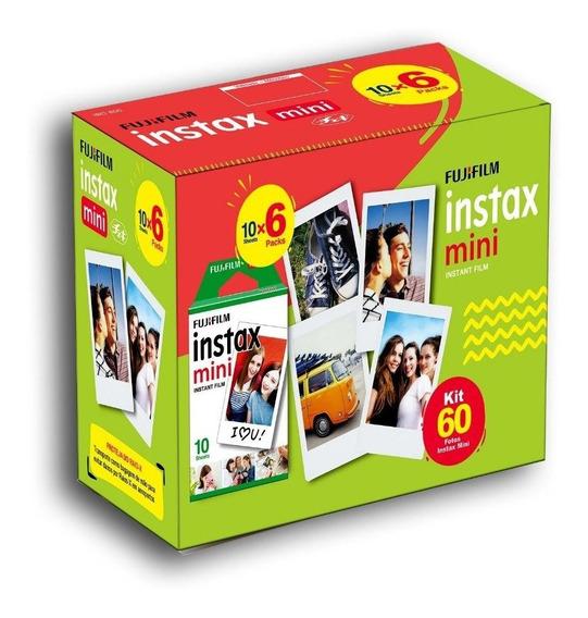 Combo Filme Instax Mini 60 Fotos Instantaneas