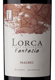 Vino Lorca Fantasia Malbec O Cabern O Franc X 750 Cc