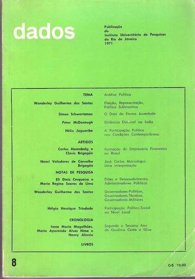 Dados 8 - Tema Análise Política - Instituto Universitário