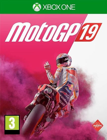 Motogp 19 Xbox One - 25 Dígitos (envio Flash)