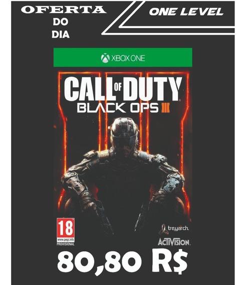 Jogo Call Of Duty Black Ops 3 Xbox One Online Original