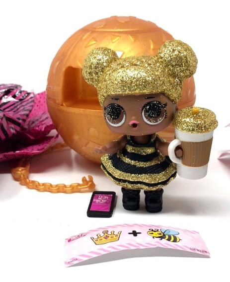 Boneca Lol Queen Bee Serie 1 Ultra Rara Linda 100% Original