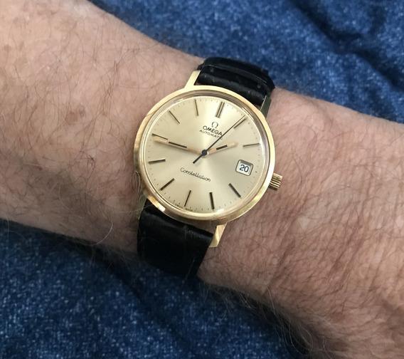 Relógio Ouro 18k Omega Constellation - 13 Anos No M. Livre