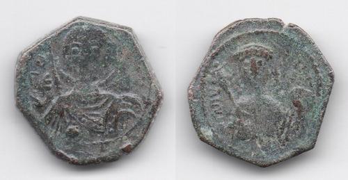 Imagen 1 de 2 de Moneda Bizantina Alexius I Comnenus Emp. 1081-1118 Dc. L147