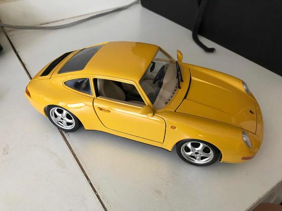Miniatura Porsche 911 Carrera Burago 1/18