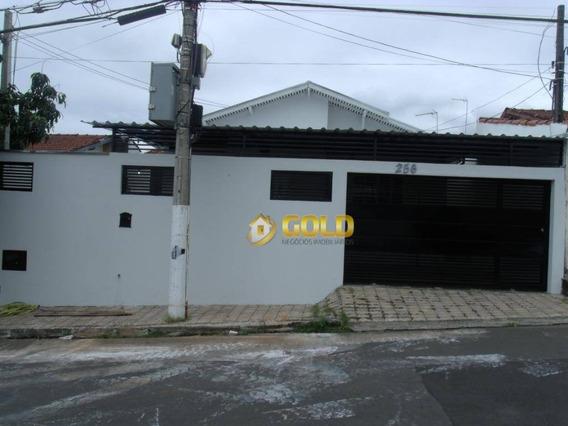 Casa Com 3 Dormitórios À Venda, 207 M² Por R$ 330.000 - Vila Monte Alegre - Paulínia/sp - Ca0391