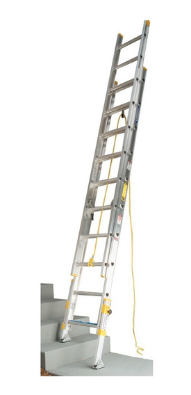 Escalera Extension nivelador 16 escal tipo ii 102kg Werner