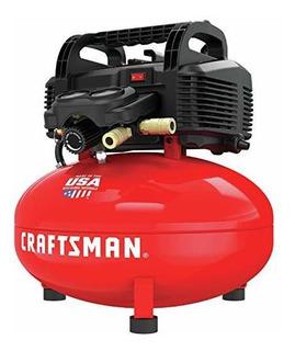 Compresor De Aire Craftsman, Sin Aceite, Panqueque De 6 Galo