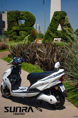 Scooter Sunra Hawk De Litio - Patentable  / D