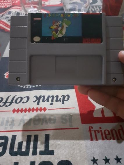 Super Mario World Super Nintendo Original